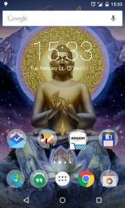 Nexus 4 homescreen