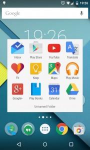 My Google apps